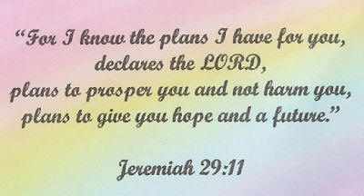 God has a purpose and a plan for you!